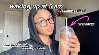 Waking up at 5am for a Week *productive* | online school | LexiVee