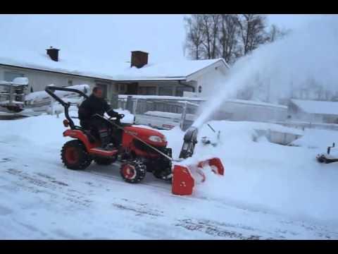 Best options for kubota front snowblower