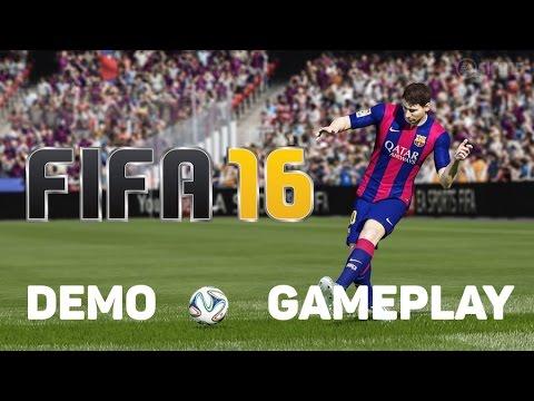 FIFA 16 Demo - Women's Gameplay -  USA v Germany (1080p)