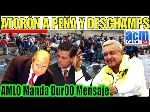 Fuerte mensaje del Presidente AMLO a Peña y Deschamps