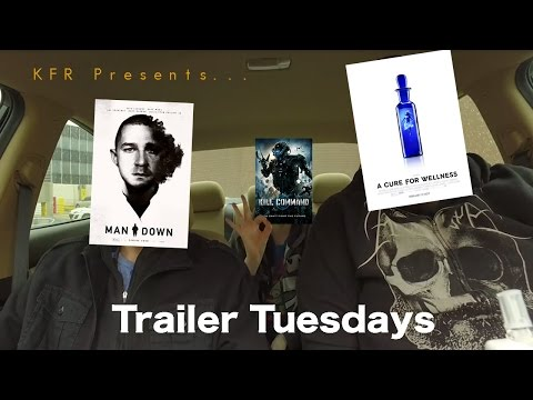 """Trailer Tuesdays - """"A Cure For Wellness"""", """"Kill Command"""" and """"Man Down"""""""