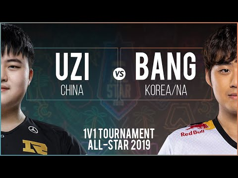 Uzi Varus Vs Bang Yasuo - All-Star Las Vegas 2019 1v1 Round Of 16 - Uzi Vs Bang