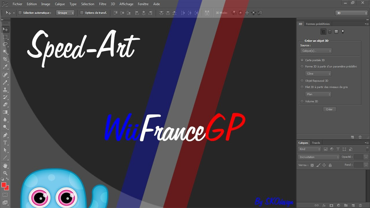 Speed Art  WiiFrance  Par : SieK0
