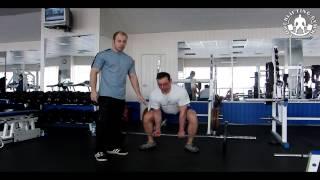 Становая тяга. Видео. Как правильно выполнять становую тягу