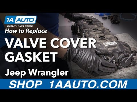 How to Replace Valve Cover Gasket 06-18 Jeep Wrangler