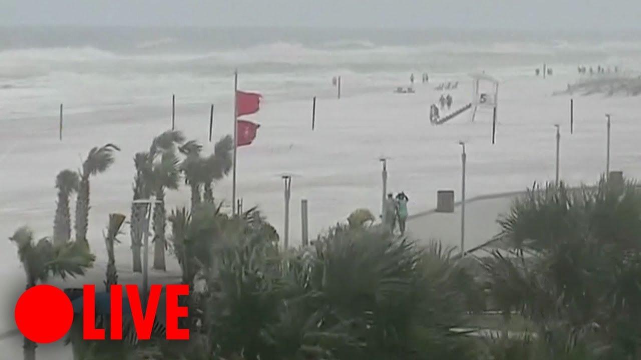 LIVE: Hurricane Michael hitting Panama City Beach