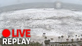 Hurricane Michael hits Florida (FULL)