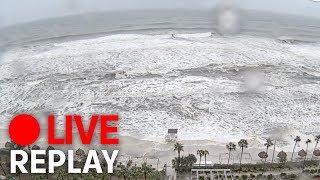 LIVE: Hurricane Michael hits Florida (Panama City)