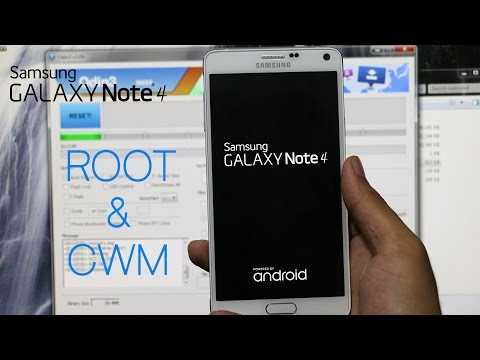 Galaxy Note 4 - How to Root and Install CWM Recovery (All Variants)