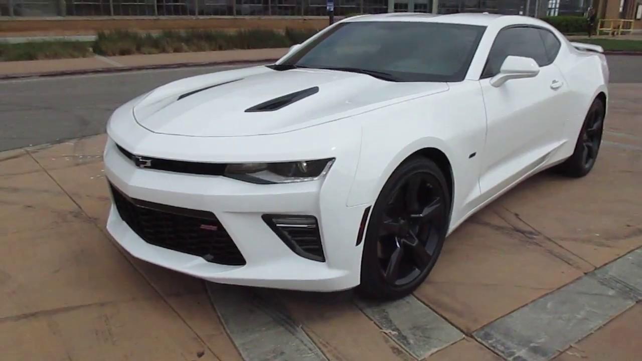2016 White Chevrolet 2ss Camaro Walkaround
