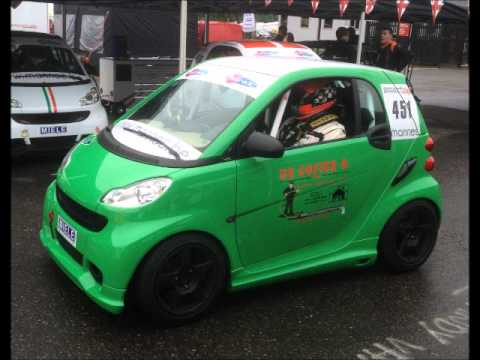 Smart Car Racing Brands Hatch 2017