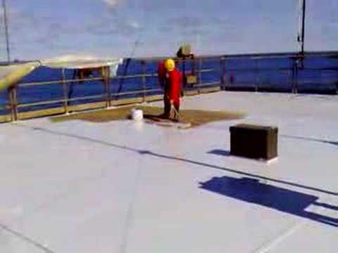 Moronic oil rig painter ......