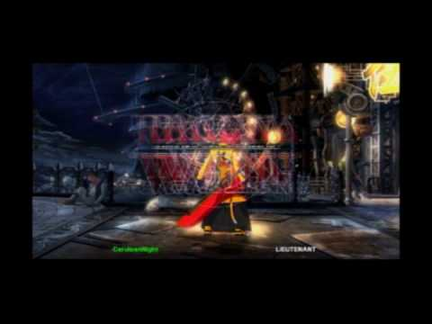 BlazBlue: Calamity Trigger (PS3) -- Ragna the Bloodedge vs Noel Vermillion (with Pain)  