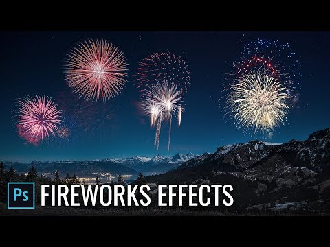 How To Add Fireworks Effects In Photoshop