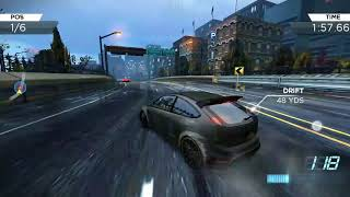 Need Fo Speed Most Wanted Gameplay | FORD FOCUS RS500 {WAKIMG UP/BOTTOM RUNG}