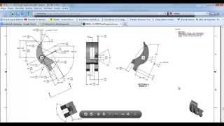 Drawing Colt 1911 with Solidworks - Tutorial Part 10 - Sear