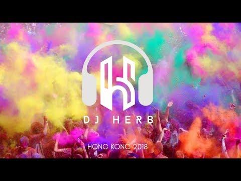 Dj Herb (Malaysia) - Live In Hong Kong | Holi 2018 | Balam Pichkari | Bollywood
