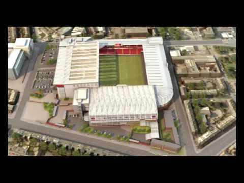 Sheffield United's New Stadium Plans - YouTube