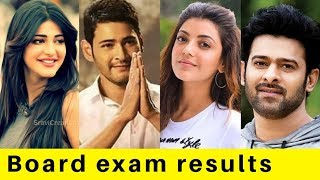 Board exam result popular South Indian celebrities