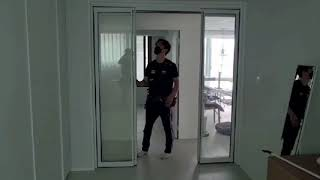 금호동 서울숲 푸르지오 1차 아파트 드레스룸 거실파티션…