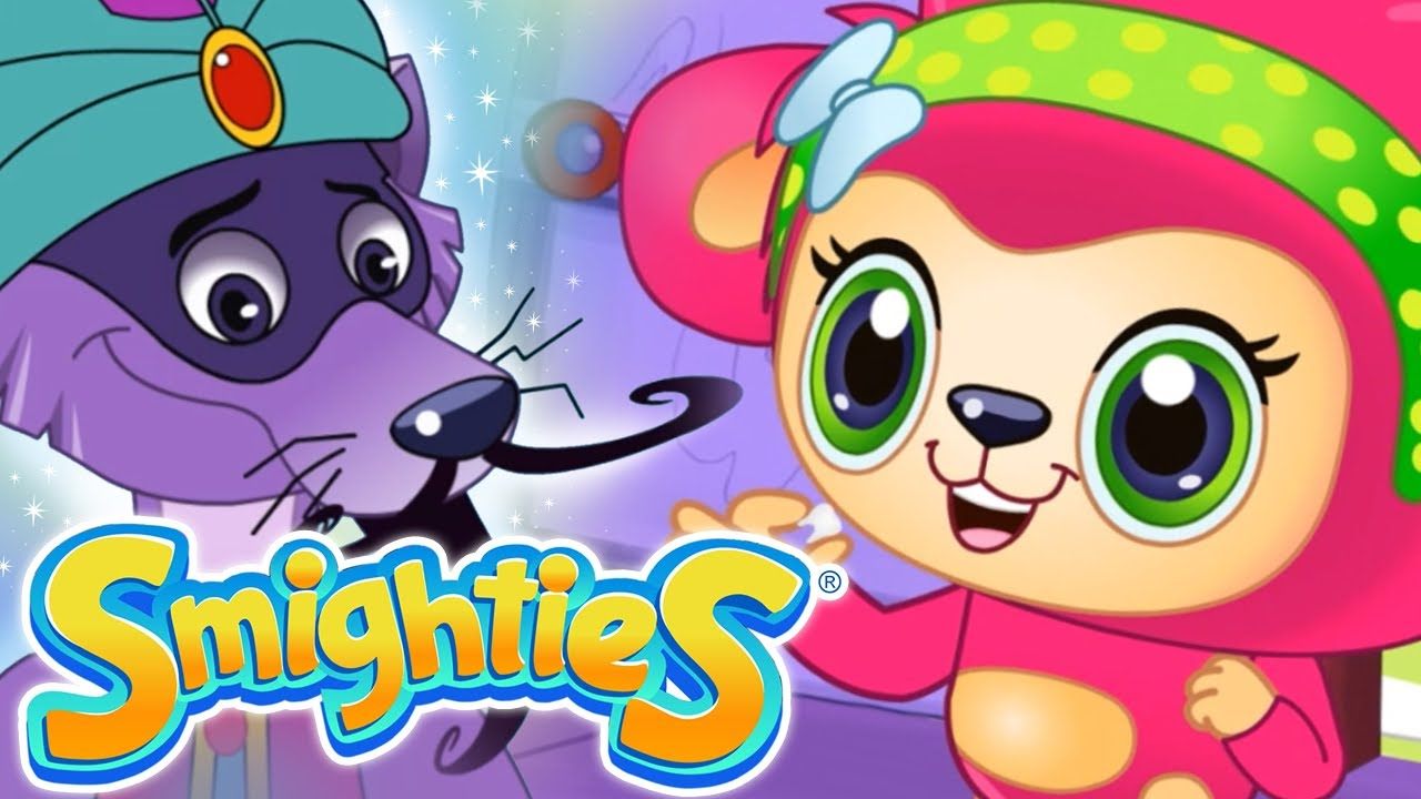 Smighties Dental Care And Sneaky Genie Cartoons For Kids Children S Animation Videos Youtube