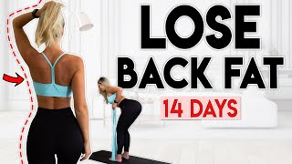 LOSE BACK FAT in 14 Days | 10 minute Home Workout