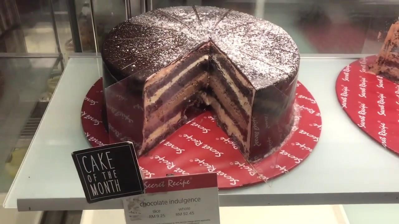 Unwrapping Secret Recipe S Chocolate Indulgence Cake Youtube
