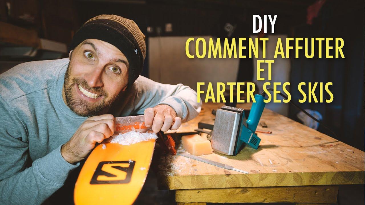 DIY : Comment affûter et farter ses skis ?