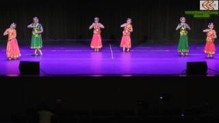 WISMA Xmas 2012 : Bharatanatyam - Jaya Janardhana Krishna Radhika pathe