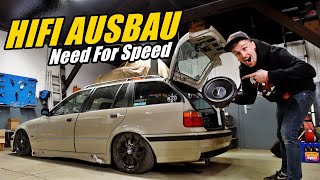 HIFI AUSBAU IM NEED FOR SPEED STYLE | BMW E36 PROJEKT