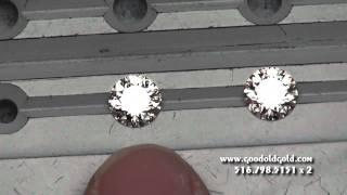 Tiffany Diamond vs GOG Hearts and Arrows Diamond