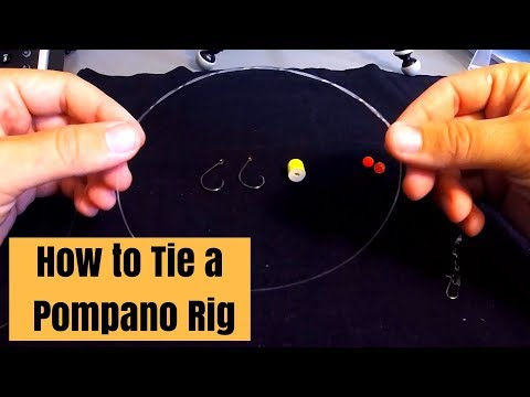 How To Tie A Pompano Rig For Surf Fishing