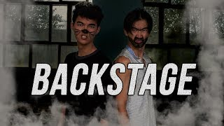 BACKSTAGE со съемок клипа пародий на Real One (Наzима & Скруджи)