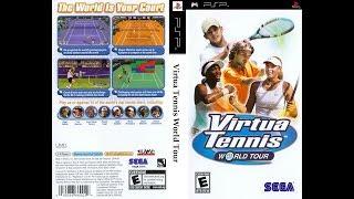 PSP - VIRTUA TENNIS WORLD TOUR