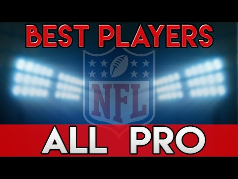 NFL ALL PRO TEAM 2016-2017 SEASON - NFL BEST PLAYERS - Matt Ryan Tom Brady Antonio Brown