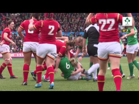 Irish Rugby TV: Pitch Cam - Ireland Women In Wales
