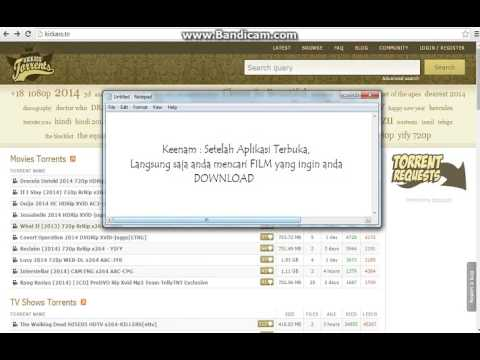Tutorial Mendownload FILM (Free) Dengan Aplikasi uTorrent