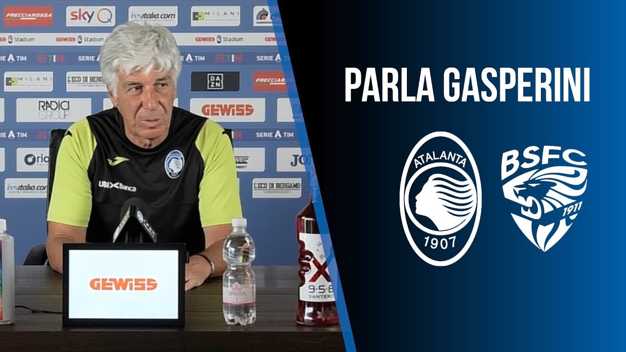 33ª Serie A TIM Atalanta-Brescia | L'intervista della vigilia a Gian Piero Gasperini