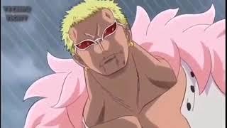 【ワンピース】ルフィとドフラミンゴの戦い. The battle between Luffy vs Doflamingo.