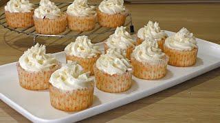 """✧ НЕЖНЫЕ КАПКЕЙКИ """"Ванильные"""" ✧ Vanilla Cupcakes with Buttercream ✧ Марьяна"""