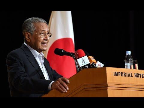 PM speaks about Najib's 1MDB case, RM1tril debt in Japan