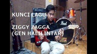 Kunci gitar lagu Ziggy Zagga - Gen Halilintar #untukpemula