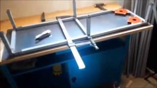 Établi soudure DIY. - DIY Welding Table .