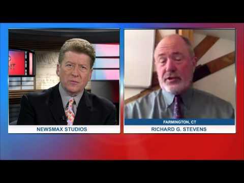 MidPoint | Richard Stevens, Professor at UConn Health Center sounds the alarm on screen light
