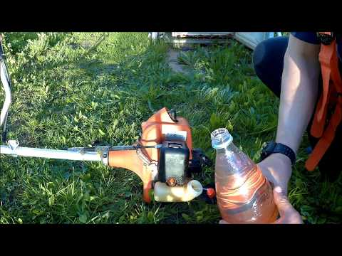 как разбавить бензин ( АИ 92 ) для бензо косы, триммера