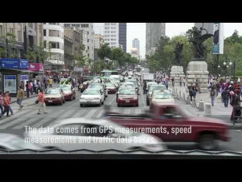 Mexico City has the world's worst traffic