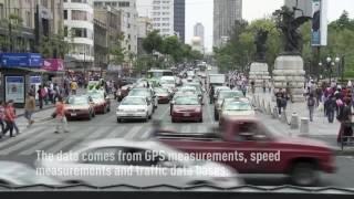 Mexico City has the world's worst traffic