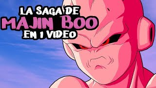 Dragon Ball Z Saga Majin Boo: La Historia en 1 Video