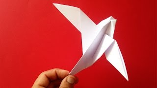 How To Make An Easy And Quick Origami Dove Can Be Moved - Vyouttar's Origami -