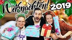 BESCHERUNG 2019 - Weihnachten mit Kaan, Kathi & Eva!